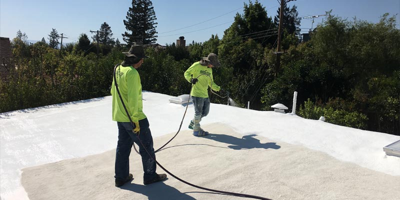The Dura-Foam Roofing System will last the life of your building