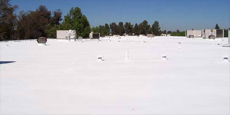 Dura-Foam completes a Commercial SPF Project