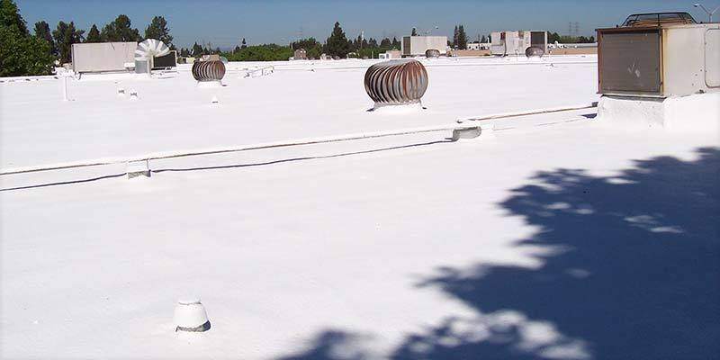 Durafoam Foam Roofs Keep You Cool in Summer and Warm in Winter