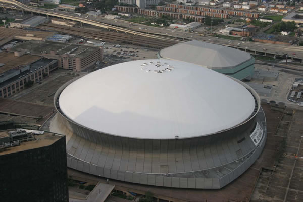 Foam Roofing Louisiana Superdome