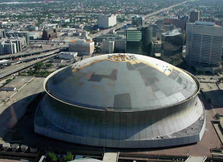 Sprayed Foam Roofing New Orleans Superdome