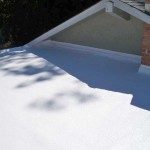 Dura-Foam sprayed foam roof