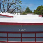 polyurethane spray foam roof on house roof