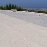 Dura-Foam roof with spray foam