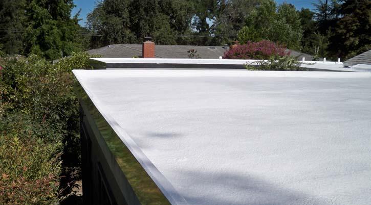 Dura-Foam foam roofing