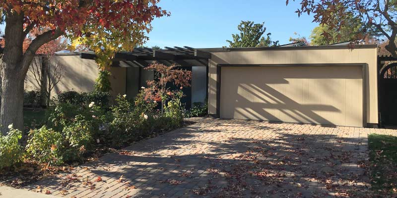 eichler roof with foam