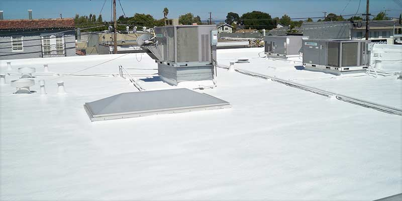 commercial waterproof foam roofing