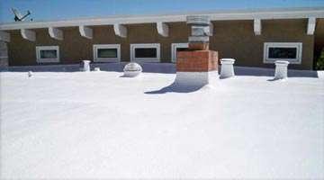Dura-Foam foam roof
