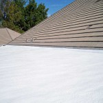 polyurethane foam on roof