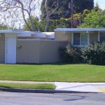 Eichler home with hvac and foam roof