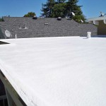 flat foam roofing for residential