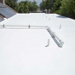 foam roof with solar panels