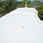 Polyurethane roof with vents