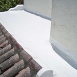 Polyurethane roof with shingles