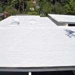 Dura-Foam sprayed roof