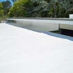 Spray polyurethane on residential home