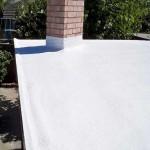 Spray polyurethane foam roof