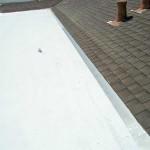 Foam roof with shingles