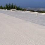 Dura-Foam roof with spray foam