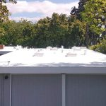Dura-Foam roof on Eichler Home