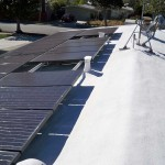 solar panels on side of roof