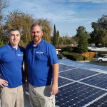 Dura-Foam solar technicians on roof