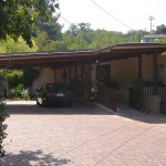 Eichler carport with solar