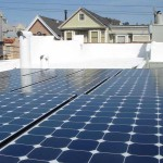 Dura-Foam solar panels on California home in residential area