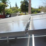Dura-Foam solar panels closeup