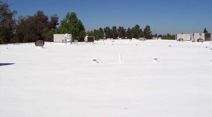 Dura-Foam commercial foam roof